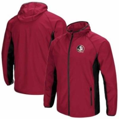 Colosseum コロセウム スポーツ用品  Colosseum Florida State Seminoles Garnet Archer Full-Zip Jacket