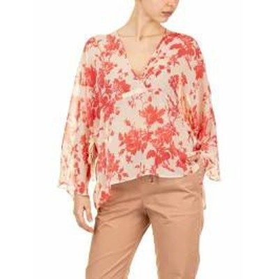 SEMICOUTURE レディースシャツ SEMICOUTURE Bonnie Blouse Red