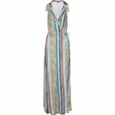 ミッソーニ Missoni Mare レディース ワンピース ラップドレス ワンピース・ドレス Zig-zag knit wrap dress SMC