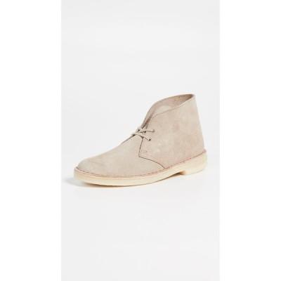 クラークス Clarks メンズ ブーツ シューズ・靴 Suede Desert Boots Sand
