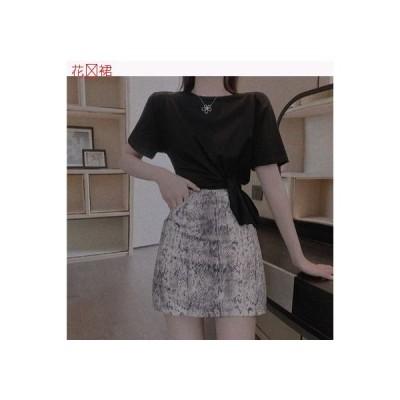 【送料無料】レディース 韓国風 デザイン 感 不規則な パッド 肩 ルースTシャツ ハイ | 364331_A63277-8321892