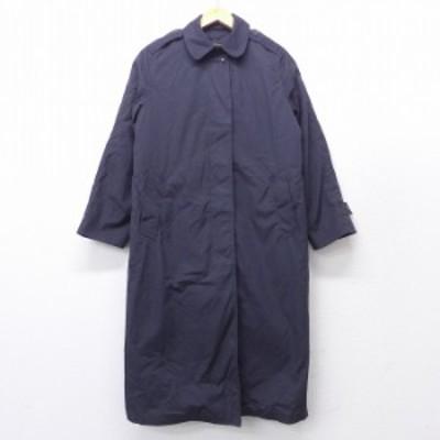 古着 レディース 長袖 ミリタリー コート 90年代 90s 裏地ボア ロング丈 USA製 黒 ブラック 中古 アウター コート 古着