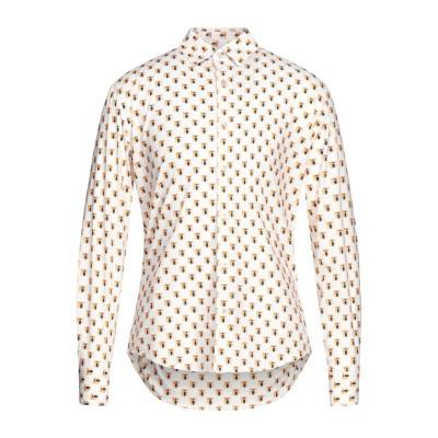 KOON シャツ ホワイト M コットン 97% / ポリウレタン 3% シャツ
