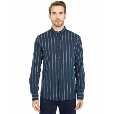 スコッチアンドソーダ シャツ トップス メンズ Regular Fit - Pattern Shirt with Contrast Boucle Yarn Combo B