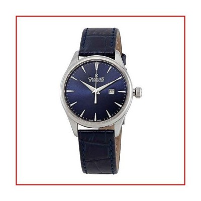 【新品未使用】Charmex Blue Dial Blue Leather Ladies Watch 6388【並行輸入品】