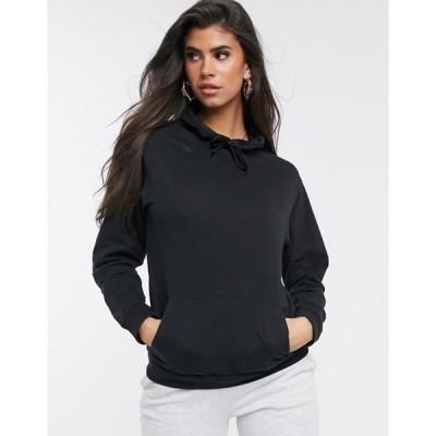 エイソス レディース パーカー・スウェット アウター ASOS DESIGN ultimate hoodie in black