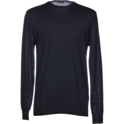オジオ HoSIO メンズ ニット・セーター トップス sweater Dark blue
