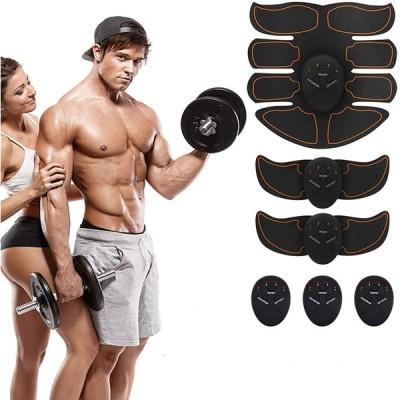 【2020最新版モデル】EMS 腹筋ベルト USB充電式 6種類モード 9段階強度 腹筋トレーニング 腹筋 腕筋 筋トレ器具 ダイエット器具 腹筋パッ