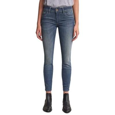サルサジーンズ カジュアルパンツ レディース ボトムス Salsa jeans Push Up Wonder Capri With Stud Detail Blue