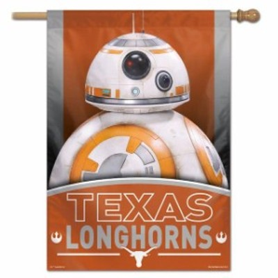WinCraft ウィンクラフト スポーツ用品  WinCraft Texas Longhorns 28 x 40 Star Wars Single-Sided House Banner