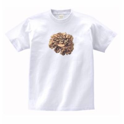 食べ物 野菜 Tシャツ マイタケ 舞茸 白