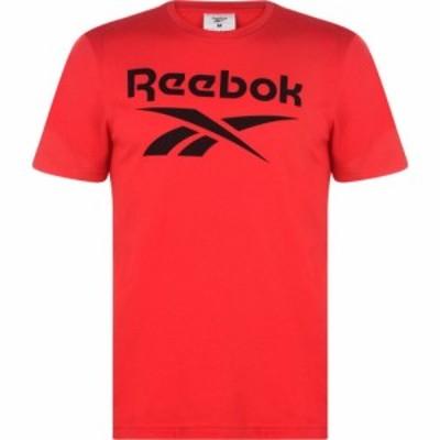 リーボック Reebok メンズ Tシャツ ロゴTシャツ トップス Vector Logo T Shirt Red