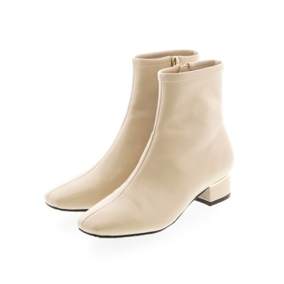 JELLY BEANS / クロコヒールストレッチブーツ(204-22583)JELLY BEANS(ジェリービーンズ) WOMEN シューズ > ブーツ
