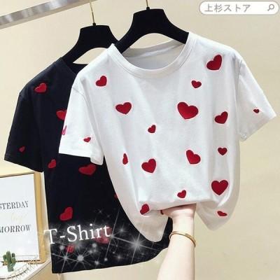 【セール】Tシャツ シャツ レディース WE レディースシャツ 半袖シャツ トップス 半袖 普段着 20代 30代 おもしろ 夏物 おしゃれ フ