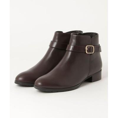 REGAL FOOT COMMUNITY / リーガル レディース/バックルつきローヒールショートブーツ WOMEN シューズ > ブーツ