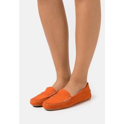 レディース 靴 シューズ Moccasins - orange/coco