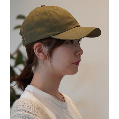 MIG&DEXI / COTTON 6P CAP  コットンシックスパネルキャップ /   MIG&DEXI SELECT WOMEN 帽子 > キャップ