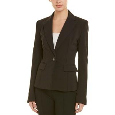 ニッサ レディース ジャケット&ブルゾン アウター NISSA Suit Jacket black