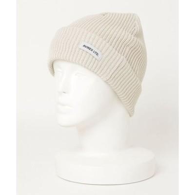 帽子 キャップ コットン ニットワッチキャップ/COTTON KNIT WATCH CAP