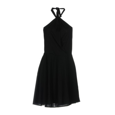 パトリツィア ペペ PATRIZIA PEPE ミニワンピース&ドレス ブラック 1 アセテート 80% / ナイロン 20% ミニワンピース&ドレス
