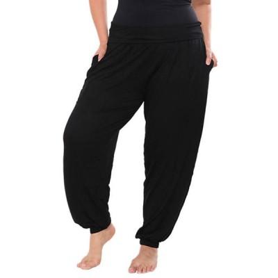 ホワイトマーク レディース カジュアルパンツ ボトムス Plus Size Harem Pants