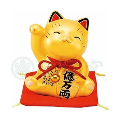 彩耀お金招き猫(金) AM-Y7375