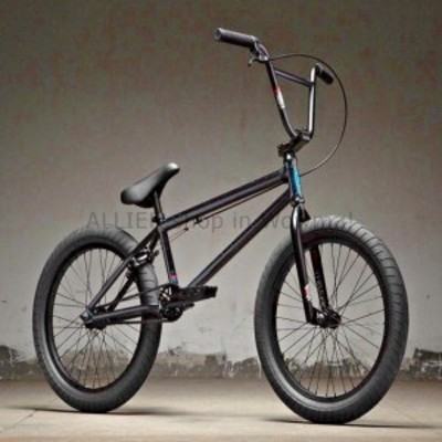 "BMX 2019キンク打ち上げ20 ""BMXバイクグロスブラックホロ紙吹雪コンプリートBMXバイク  2019 Kink Laun"