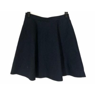 ジャスグリッティー JUSGLITTY スカート サイズ2 M レディース ダークネイビー【中古】20190727