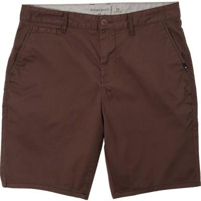 クイックシルバー Quiksilver メンズ ショートパンツ ボトムス・パンツ new everday union stretch 19' shorts Chocolate Brown