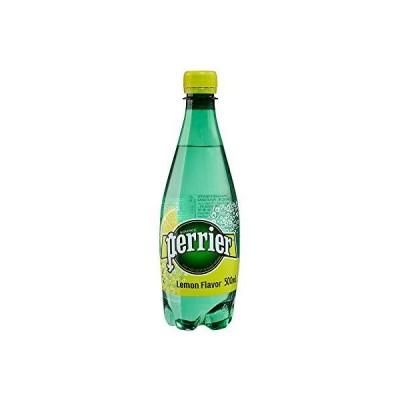 ペリエ (Perrier) レモン 炭酸水 PET 500ml 「直輸入品] ×24本