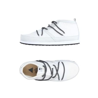 VOLTA スニーカー&テニスシューズ(ハイカット) ホワイト 6.5 紡績繊維 / 革 スニーカー&テニスシューズ(ハイカット)