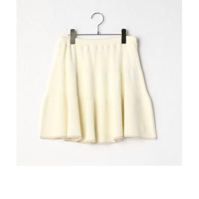 〔140cm~〕ニット フレアースカート