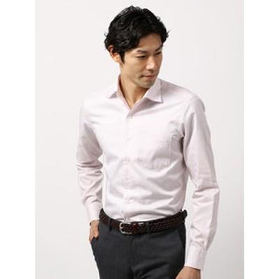 【COOL MAX】2WAYカラードレスシャツ チェック〔EC・CLASSIC SLIM-FIT〕