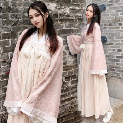 M423 着物 和服 和装 コスプレ ゆかた 袴 はかま コスプレ 浴衣 巫女 和風 花柄 花魁 漢服 中華風 チャイナ スカート 振袖 衣装 はかま 袴セット ハロウィン