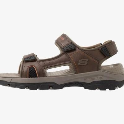 スケッチャーズ メンズ 靴 シューズ TRESMEN - Walking sandals - brown