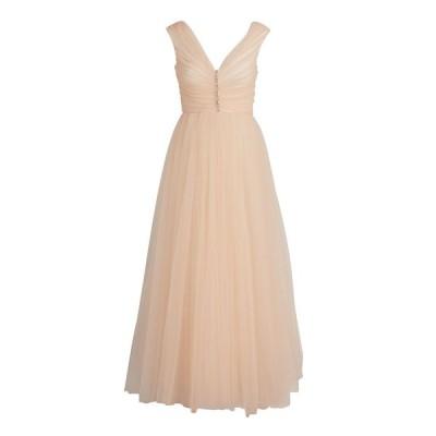 ジャンバティスタ ヴァリ レディース ワンピース トップス Crystal Tulle Pleated Dress