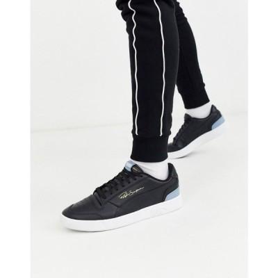プーマ Puma メンズ スニーカー シューズ・靴 Ralph Sampson trainers in black ブラック