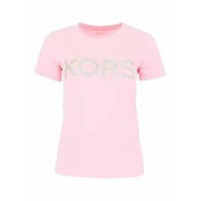 MICHAEL Michael Kors レディースその他 MICHAEL Michael Kors Logo T-shirt CARNATION|Rosa