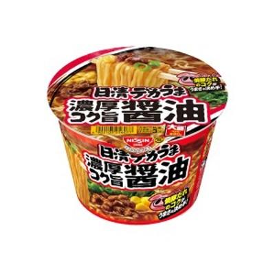日清 デカうま 濃厚コク旨醤油 116g×12個入り (1ケース) (KT)