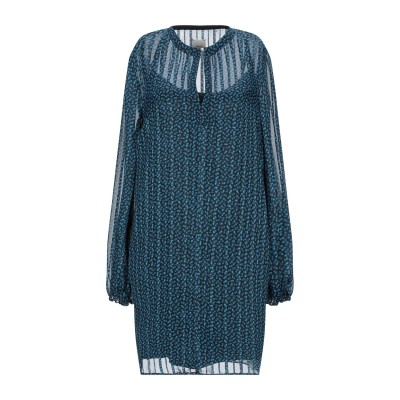 メルシー ..,MERCI ミニワンピース&ドレス アジュールブルー 42 ポリエステル 90% / レーヨン 10% ミニワンピース&ドレス