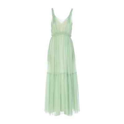 アルベルタ フェレッティ ALBERTA FERRETTI ロングワンピース&ドレス グリーン 42 シルク 100% ロングワンピース&ドレス
