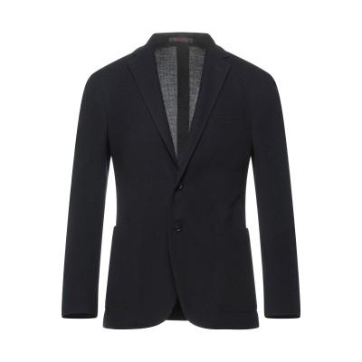 ザ ジジ THE GIGI テーラードジャケット ダークブルー 46 バージンウール 72% / コットン 28% テーラードジャケット