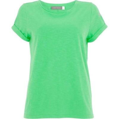 ミルトン ベルベット Mint Velvet レディース Tシャツ トップス Green Cotton Star T-Shirt Green