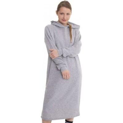 ノイズィーメイ Noisy May レディース ワンピース ワンピース・ドレス - Helene Sweat Light Grey Melange - Dress grey