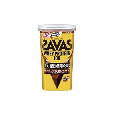 ザバス SAVAS ホエイプロテイン100 リッチショコラ味294g(約14食分) プロテイン CZ7458