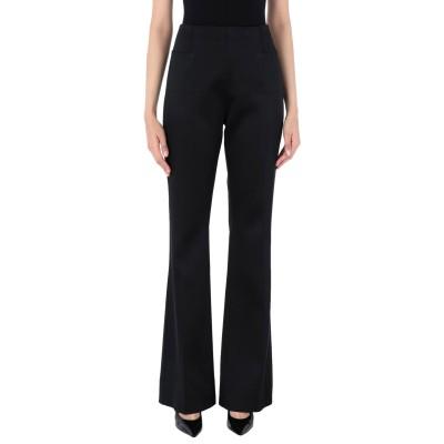 ローラン ムレ ROLAND MOURET パンツ ブラック 8 アセテート 70% / レーヨン 26% / ポリウレタン 4% パンツ