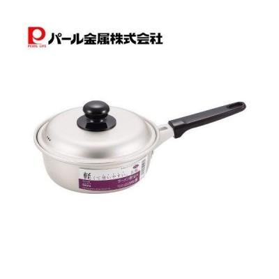 ニューセレット アルミ ラーメン鍋 16cm H-1468 パール金属