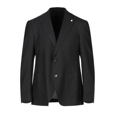 LUIGI BIANCHI Mantova テーラードジャケット ブラック 46 ウール 100% テーラードジャケット