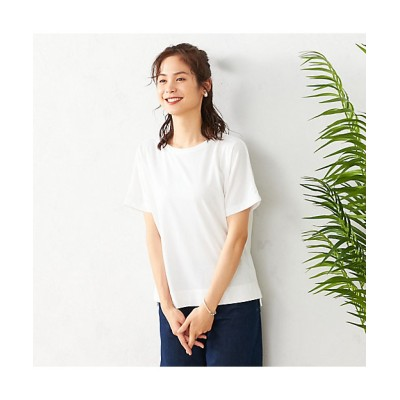 <COMME CA ISM(Women)/コムサ イズム> フレンチスリーブ Tシャツ(1268CP14) 01【三越伊勢丹/公式】