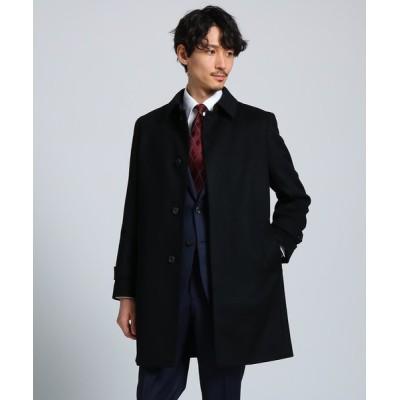 TAKEO KIKUCHI / ウールカシミヤ ステンカラーコート MEN ジャケット/アウター > ステンカラーコート